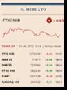 Tempo reale di Borsa e tool di finanza